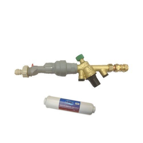 Installation Rail and Inline Filter
