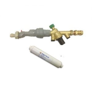 Installation Rail and Inline Spectrum Filter