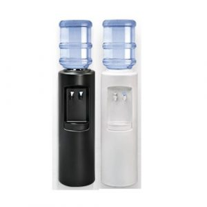 Aspen AC Black and White Bottled Watercooler